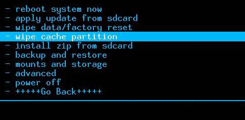 三星i9505卡刷刷机教程清空缓存