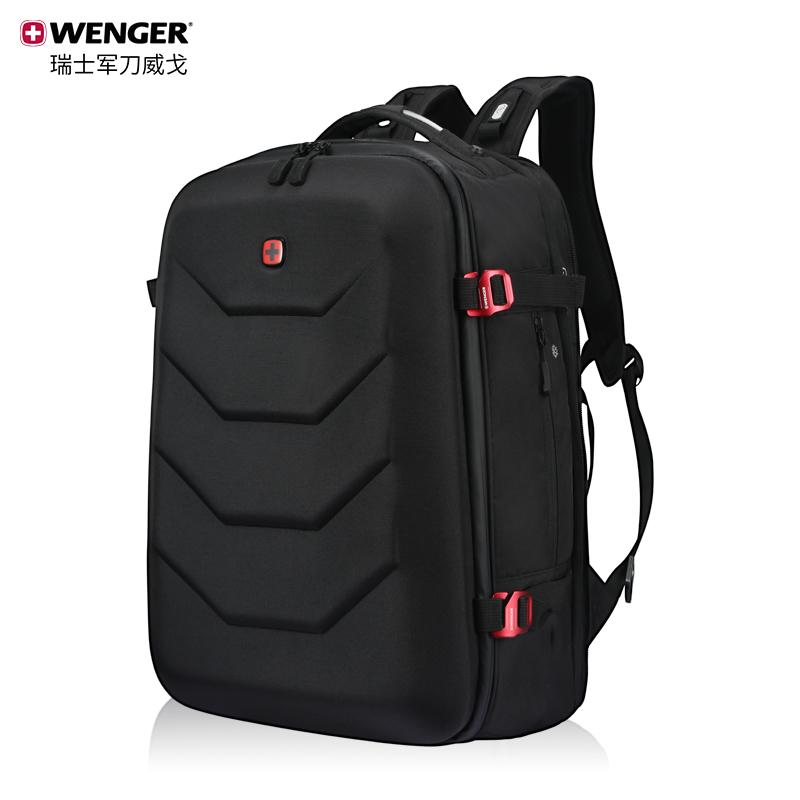 Wenger/威戈瑞士军刀机甲包时尚学生书包潮流双肩包男电脑背包男