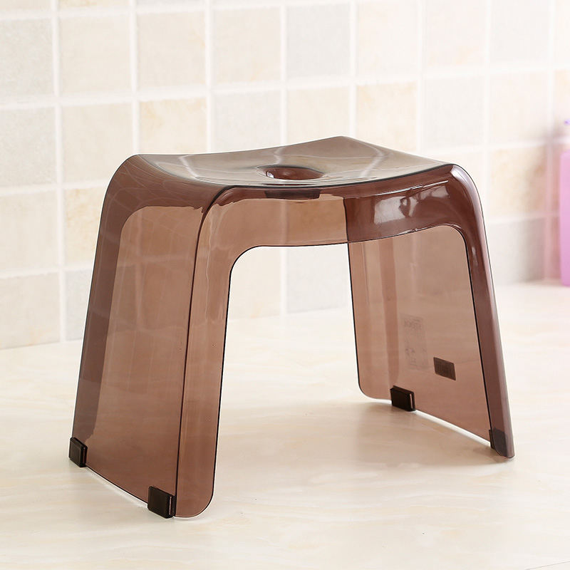 Japanese bathroom stool bath stool plastic stool thickening non-slip ...