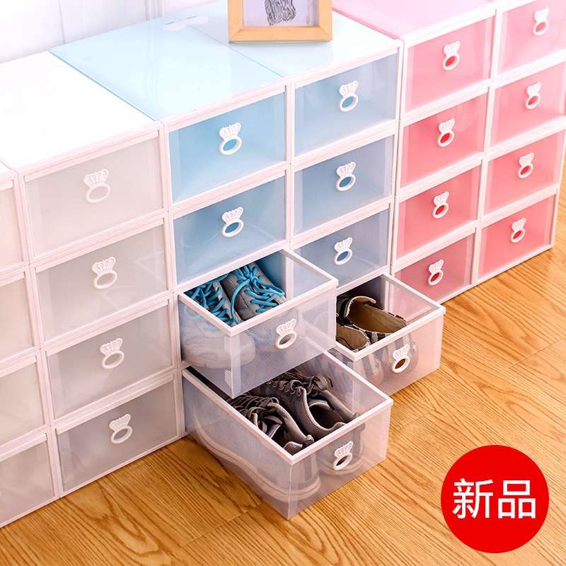 8 Drawers Shoe Box Plastic Transparent Shoe Box Shoe Storage Box Japan  Simple Shoes Box Storage Box