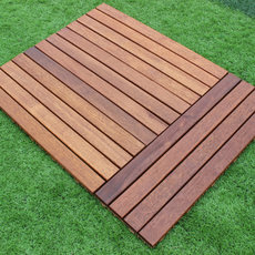 Manufacturer for pineapple grid balcony floor double deck balcony/outdoor/outdoor terrace anticorrosive wood flooring