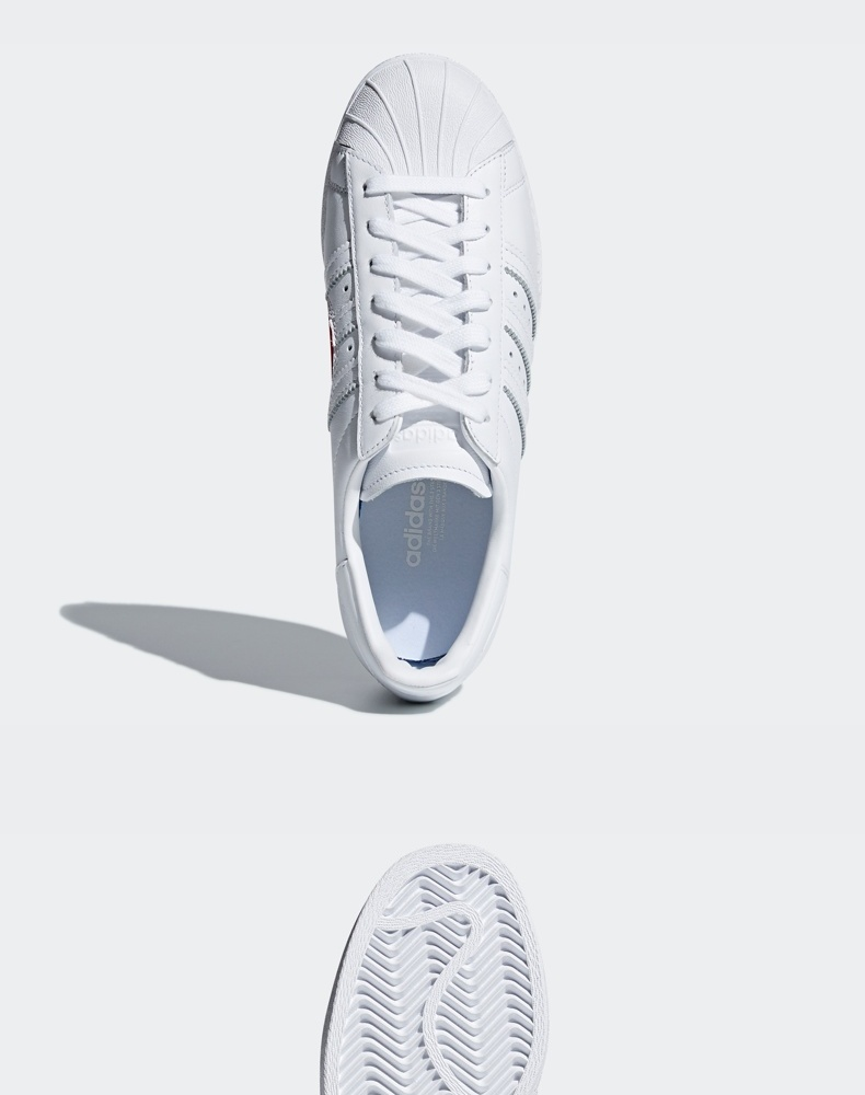 阿迪达斯 情人节限定 SUPERSTAR 80s 男女运动鞋 图8