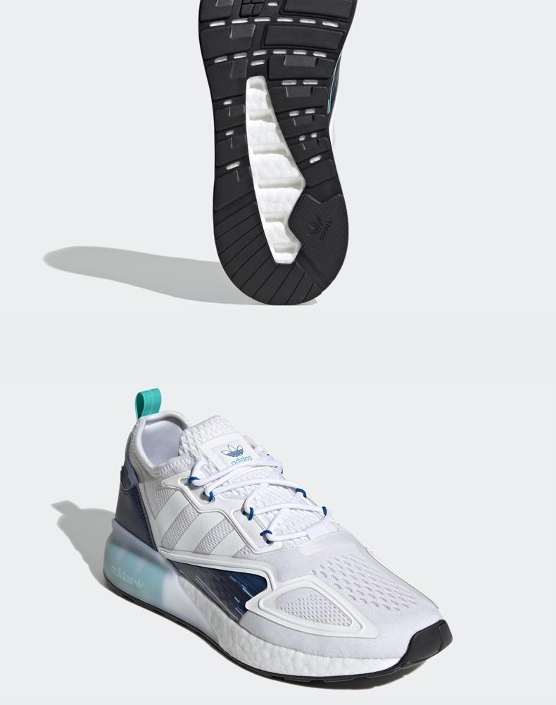 阿迪达斯 ZX 2K BOOST 男女款经典运动鞋 图4