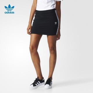 Юбки спортивные,  Adidas официальный adidas клевер  3STRIPES SKIRT женщина юбка  BK0015, цена 2266 руб
