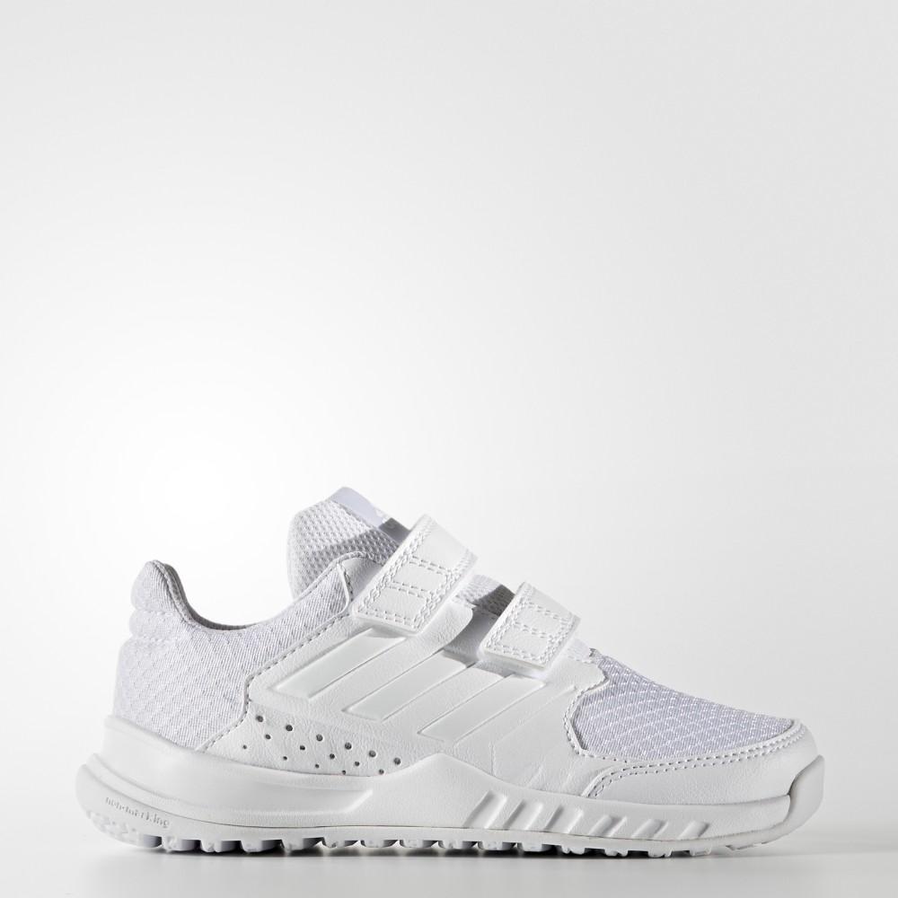 【双12特价预告】adidas 阿迪达斯 儿童训练鞋 FortaGym CF K  亮白 BA7921