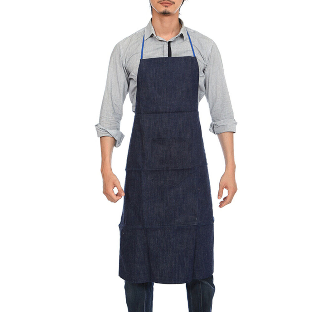 how to wear an apron