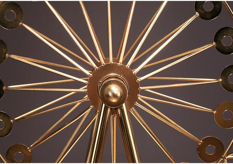 〖洋碼頭〗新中式家居客廳擺件復古鐵藝摩天輪模型裝飾創意結婚禮物飾品禮品 ysh610