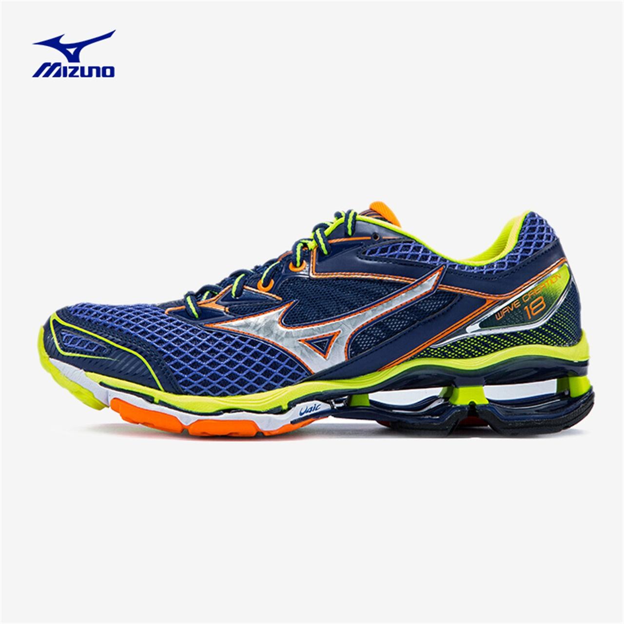 Giày thể thao nam chống sốc Mizuno / Mizuno chống thấm nước đôi giày CREATION 18 J1GR160182R - Giày chạy bộ