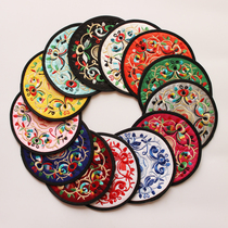 Embroidery Craft Suzhou Embroidery Art Cup mat abroad gifts foreigner