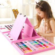 Childrens painting set gift color pen tool Kindergarten painting Crayon Ceremony