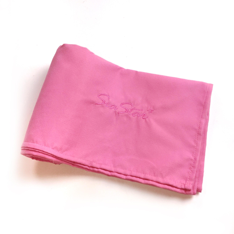 80 * 160 розового порошка банное полотенце товар в наличии