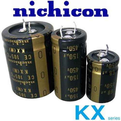 2pcs Nichicon Kx 400v 220uf Tube Amp Audio Capacitor Ebay