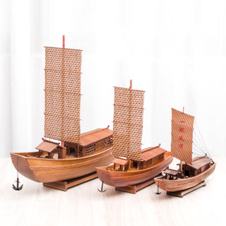 Aoyadijia Shaoxing special product awning boat water village characteristic folk crafts sailing model ship model decoration gift