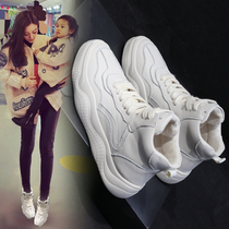 2018 Autumn New Hip-hop high-top sneakers for women Chao Han