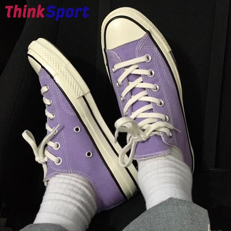Run達人的店匡威1970s三星標紫羅蘭蒂芙尼綠男女低幫帆布板鞋164405C/164713C