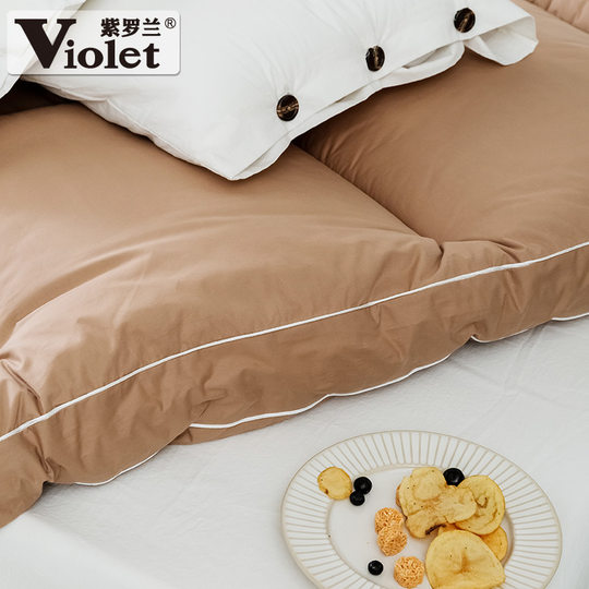 Violet cotton thick warm feather roller rpm 1.8 m comfortable thickening mattress 1.5M single double bed