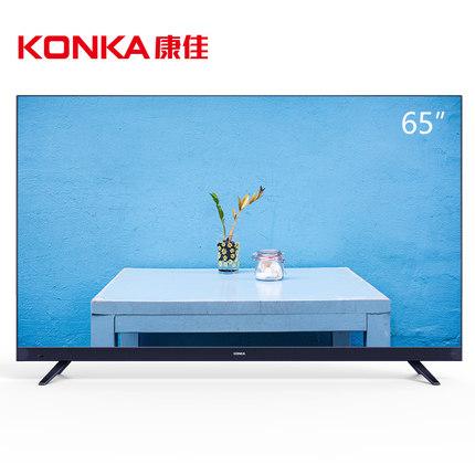 入手感受评测Konka/康佳 LED65X7 4K36核超薄机身前置音箱电视评测怎么样?