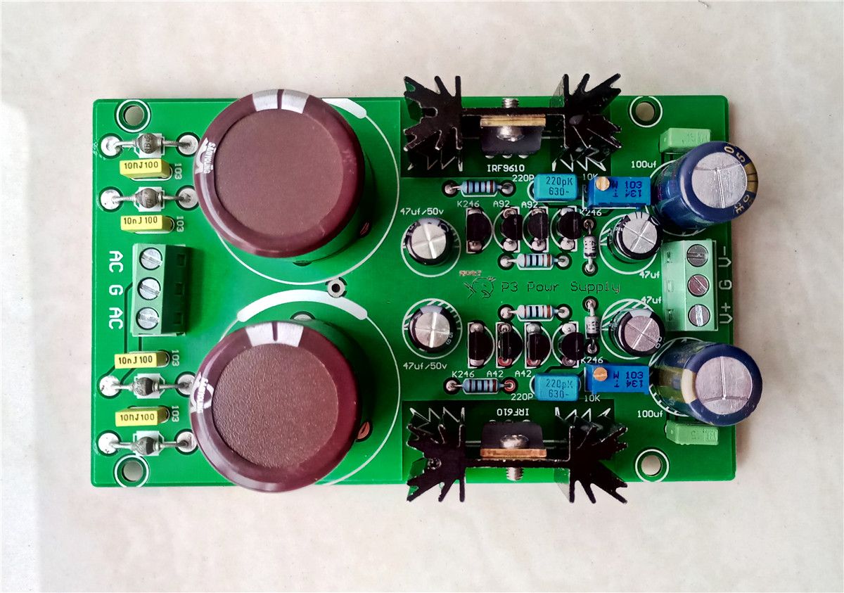Kubota Adjustable Rectifier Filter Regulated Power Supply Board For DAC AMP P3