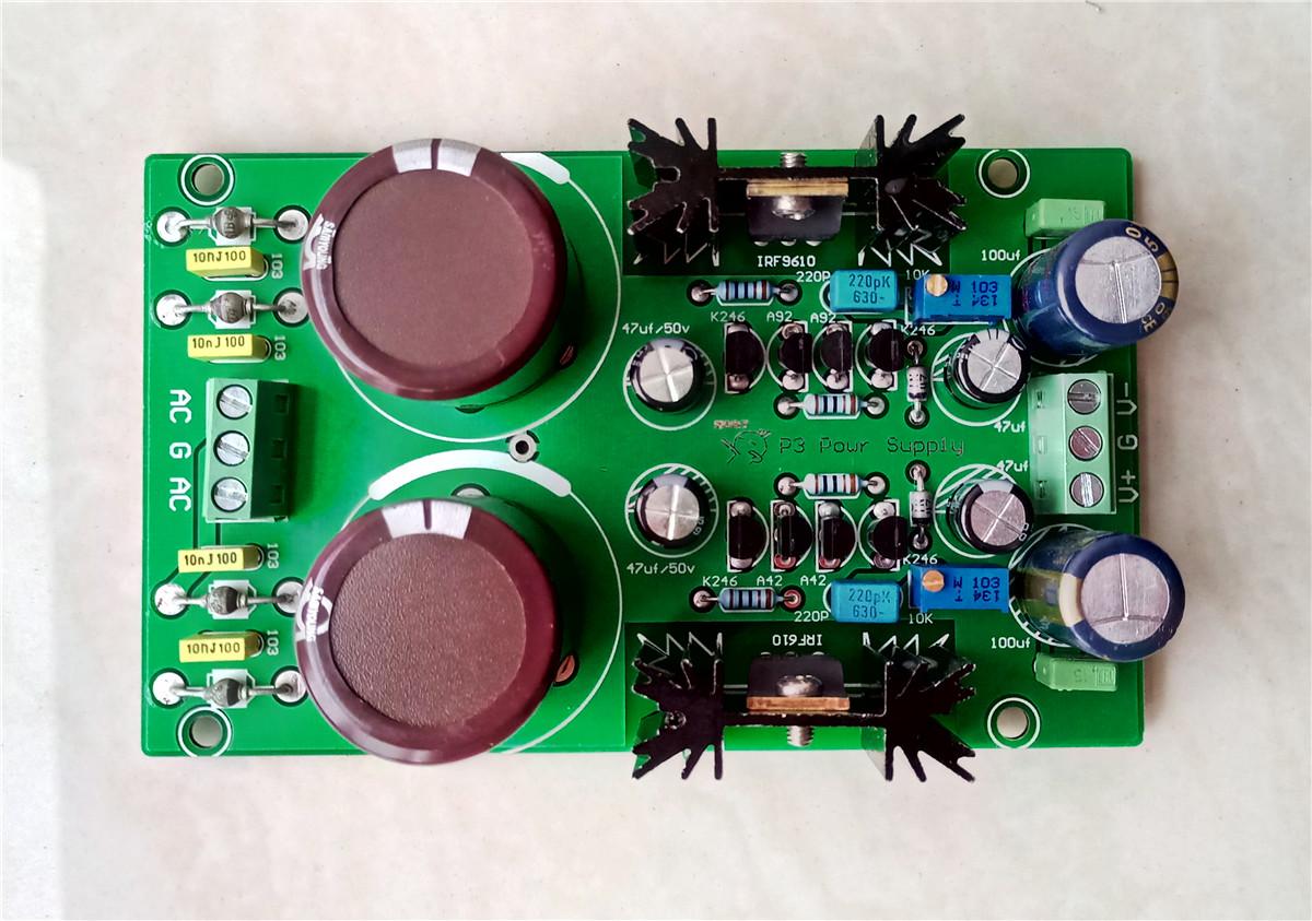Kubota Adjustable Rectifier Filter Regulated Power Supply Board For DAC AMP P3