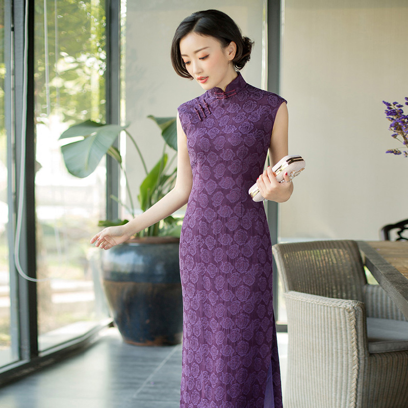 0bffa3281 Modified Leisure Cheongsam Girl Summer 2019 Chinese Style Fashion  Temperament Younger Dresses Elegant Red Beauty and Late Fragrance