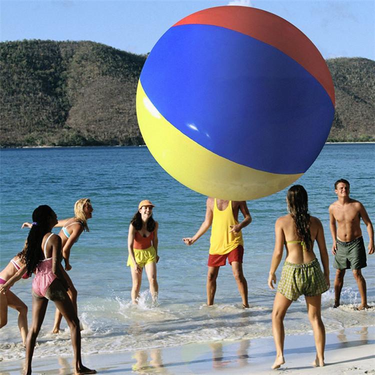 活动排球球戏水球沙滩排球体舞台智能水上沙滩充气庆典大球装饰