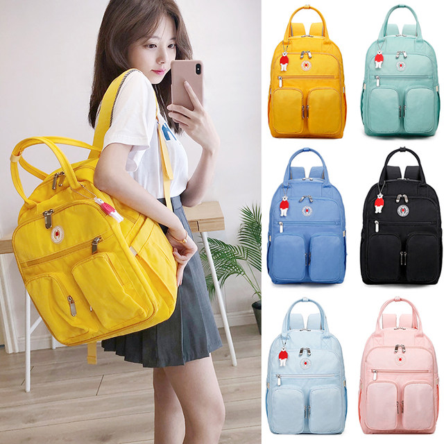 Japan Lotte bag mommy baby bag multifunctional backpack large capacity waterproof fashion portable out backpack