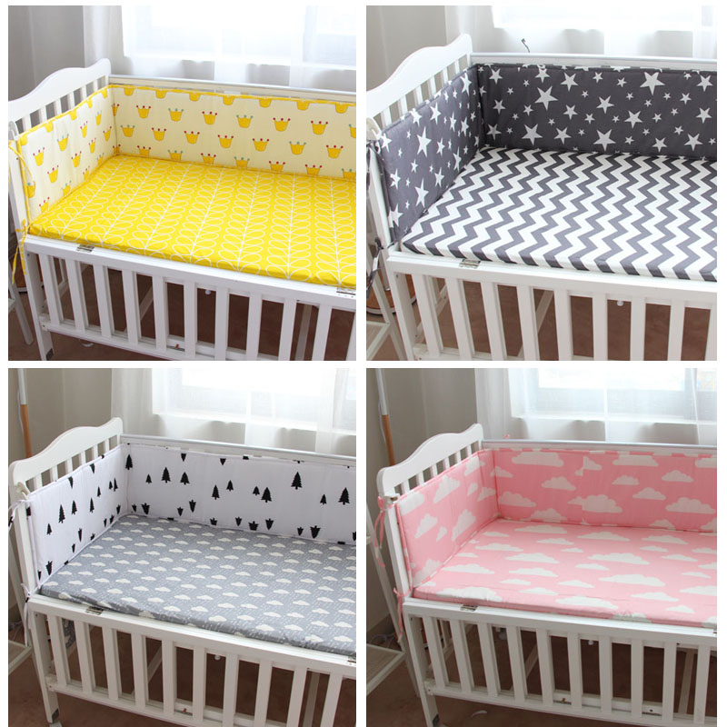 Baby Bedding Cotton Crib Baby Bed Surrounding Childrens Bed Anti-collision Bed Kit Can Be Customized Good Heat Preservation Mother & Kids