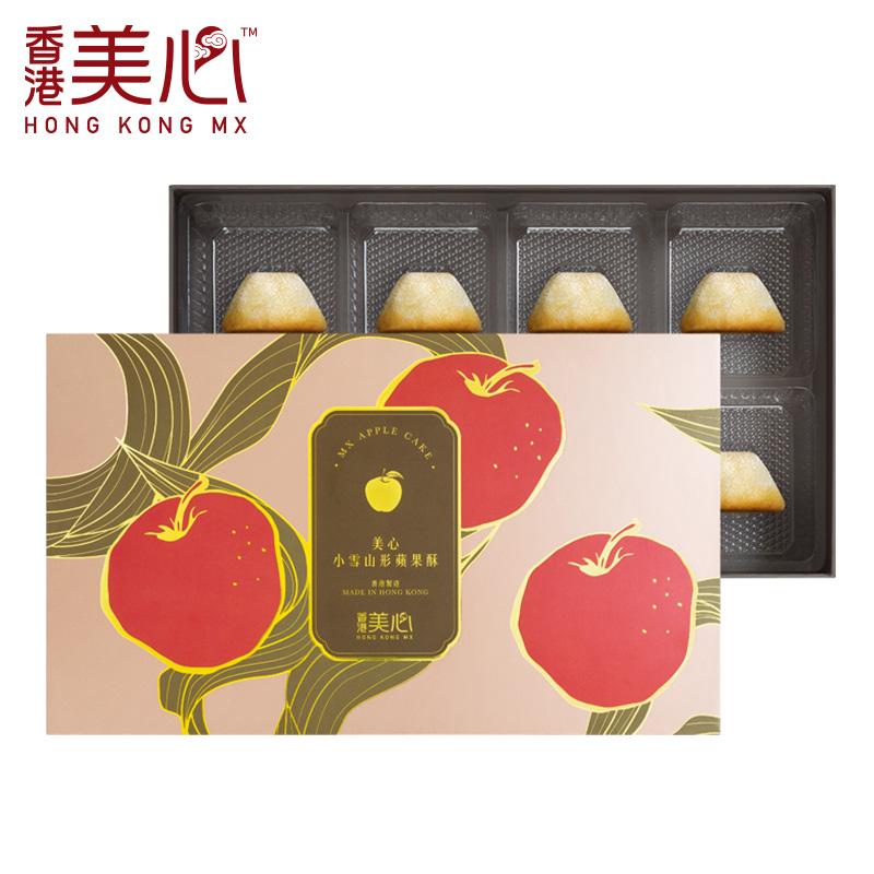 美心小雪山型凤梨酥/苹果酥礼盒零食香港进口糕点年货节日送礼