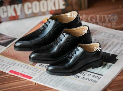 taobao agent Baby GUY exclusive bjd3 points male doll shoes sd17 dragon soul popo68 uncle id75 strong uncle suit leather shoes