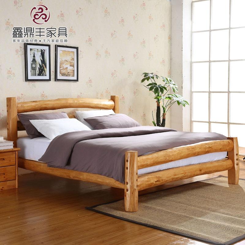 Кровать из массива дерева Xin Dingfeng  1.8