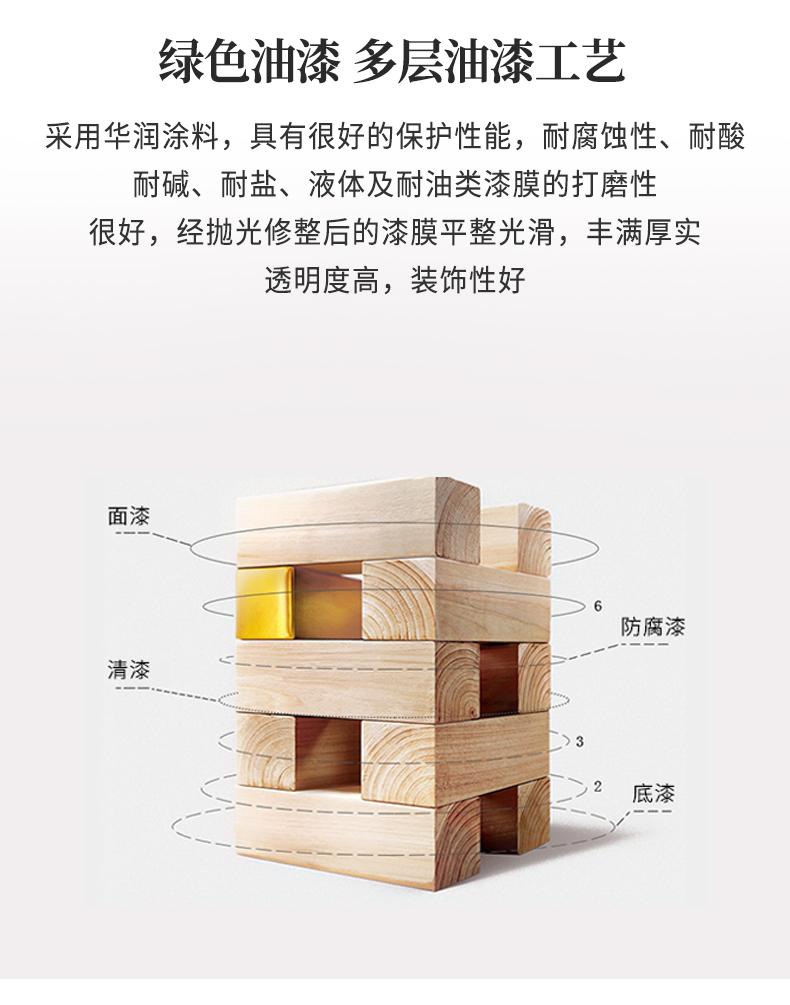 buildhomes实木沙发床可折叠多功能推拉两用客厅小户型东南亚家具商品详情图