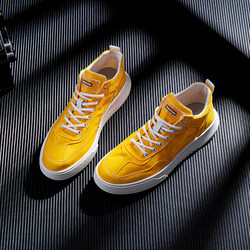 Chinese shoes men's casual shoes summer breathable shoes soft bottom personalized yellow tide shoes Korean version of the trend men's shoes