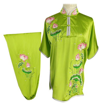 Chinese Martial Arts Clothes Kungfu Clothe  Tai Chi Wushu Competition Performs Mulan Clothes, Adult Men and Women Customized Embroidery