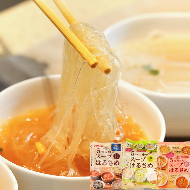 日本进口粉丝daisho大正五味杂锦即食速食品方便粉丝汤米粉10袋装