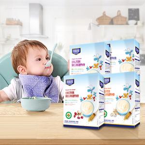 小米有机米粉宝宝婴幼儿营养小米米粉婴儿1段2段3段米糊辅食桶装