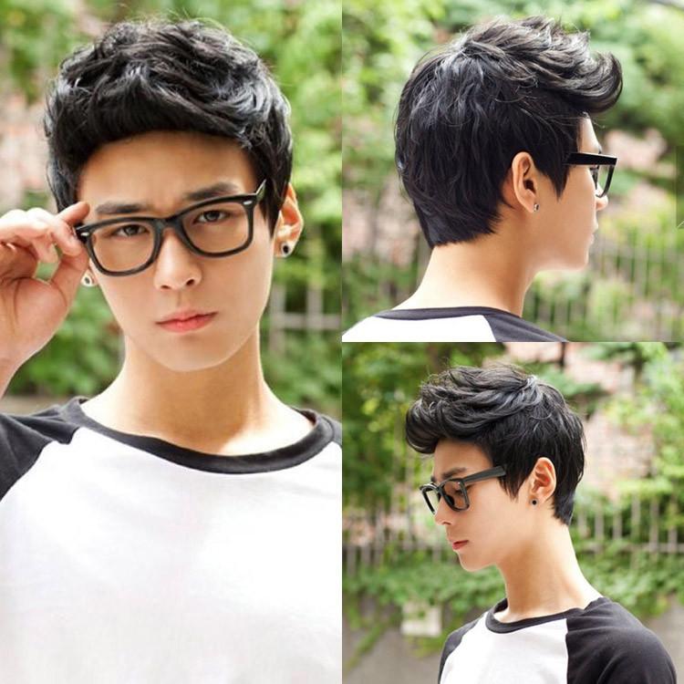 Usd 807 Hot Fashion Mens Wigs Realistic Short Hair Korean Boys