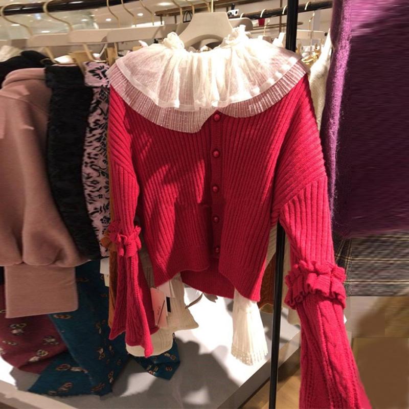 2018时尚新款韩版女装chic风套装针织洋气显瘦小香风两秋冬件套女