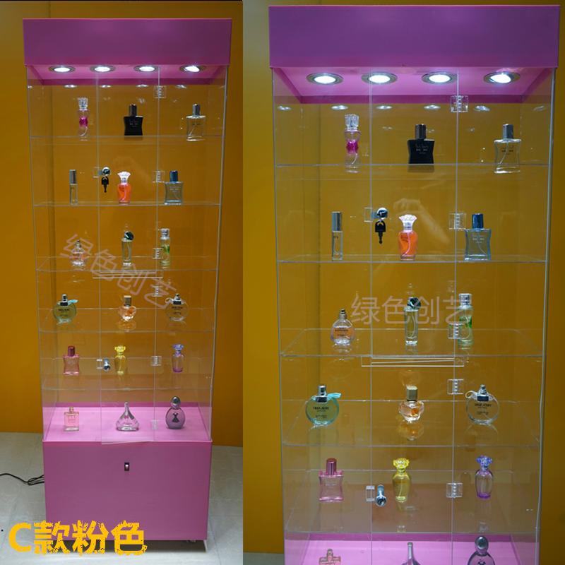 Plexiglass Acrylic Display Cabinet Cosmetics Toy Shelf