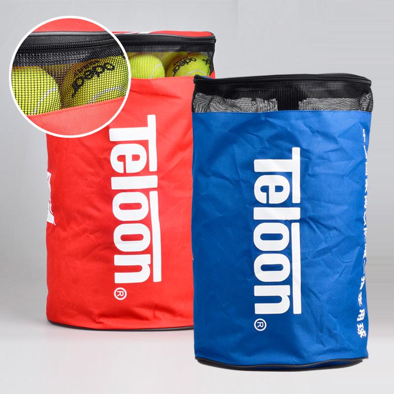 День дракона Teloon теннис пакет мяч трубка 100 штук теннис мешок воздухопроницаемый мяч ведро спеццена на качественную продукцию портативный пакет из пробки