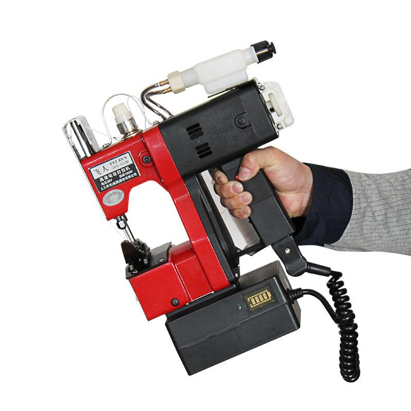 Швейная машина Трапеции карты автоматическая заправка заряжать портативный Электрический швейная машина машина запечатывания машина запечатывания мешка машины упаковки