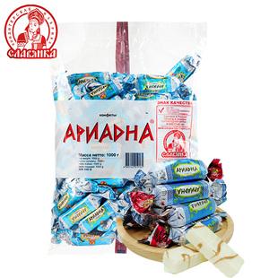 【俄罗斯进口】巧克力夹心糖果1斤