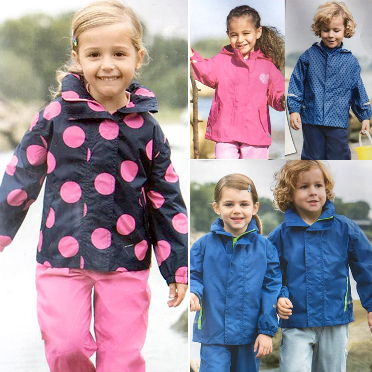 c992cb8ed Foreign Trade children's raincoats boys and girls waterproof short  paragraph raincoats kindergarten baby waterproof clothing outdoor clothing