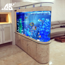 Bullet Fish tank Aquarium living room Ecology 1.2 home with large screen