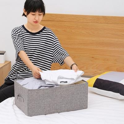 收纳箱布艺衣物收纳盒抽屉式衣柜衣服储物箱子家用折叠整理箱大号