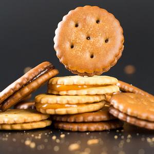 【拍5件】网红麦芽糖咸蛋黄饼干