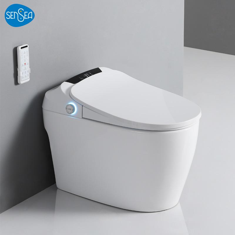 法国SENSEA全自动智能马桶即热家用遥控冲水座便电动一体式坐便器