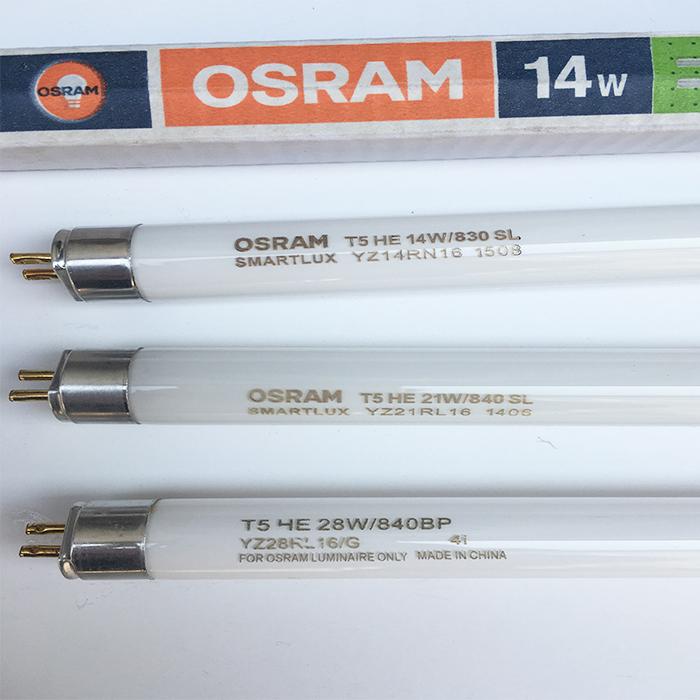 Osram T5 Fluorescent Tubes
