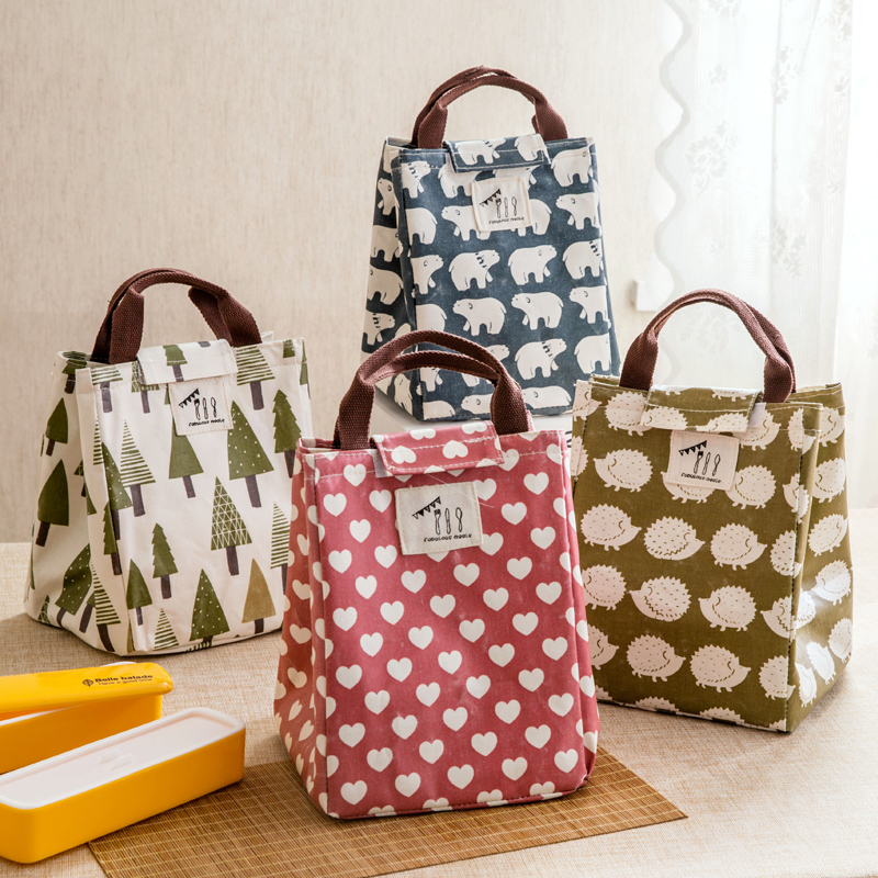 Водонепроницаемый легко пакет коробка для завтрака обмотка рис большой количество сын студент легко мешок теплоизоляции мешок сумочку коробка для завтрака мешок
