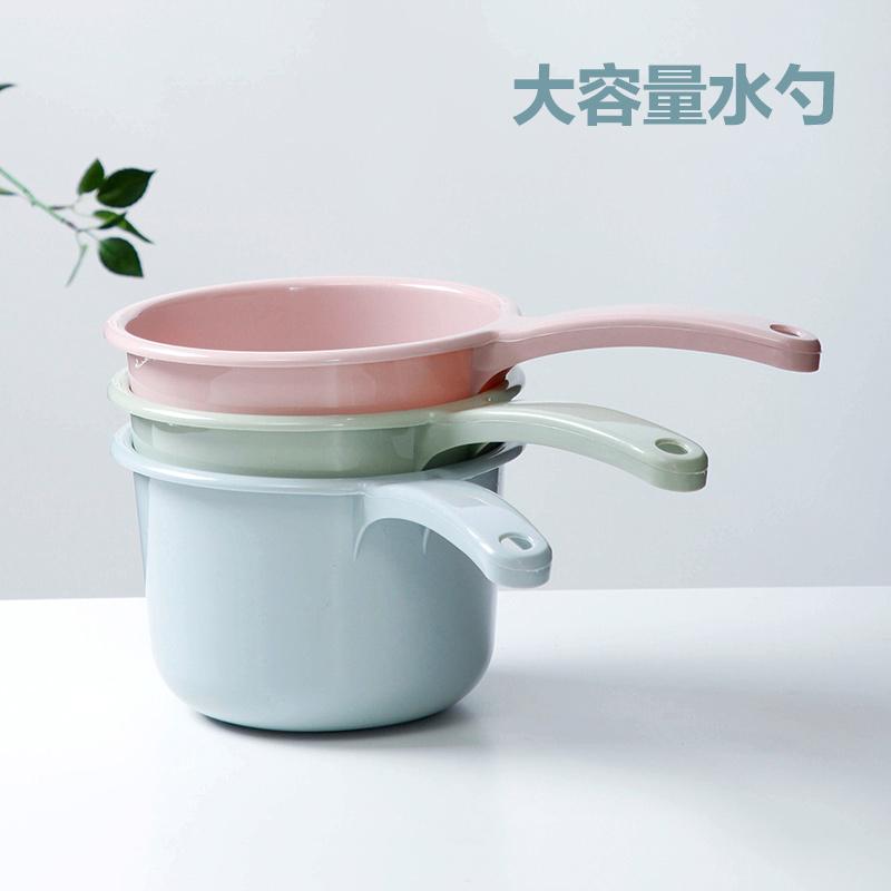 Домашние Пластиковая вода совок кухня кухня вода бутылка утепленный Водяной ковш детские на младенца Купание скорпиона
