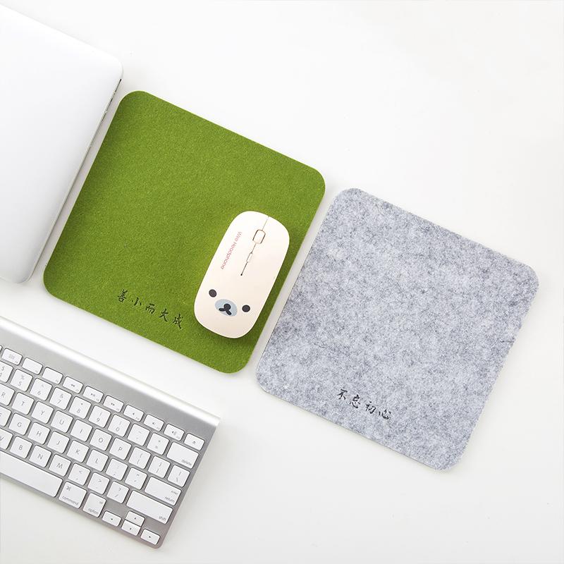 Домой домой войлок коврик для мыши труба утолщённый офис компьютерный стол подушка домой рабочий стол письменный стол коврик для игровой мыши сын